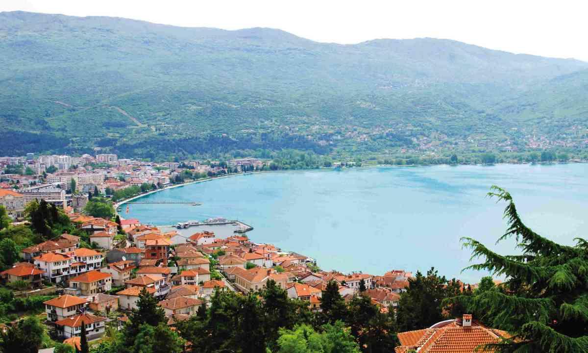 Lake Ohrid (Simon Chubb)