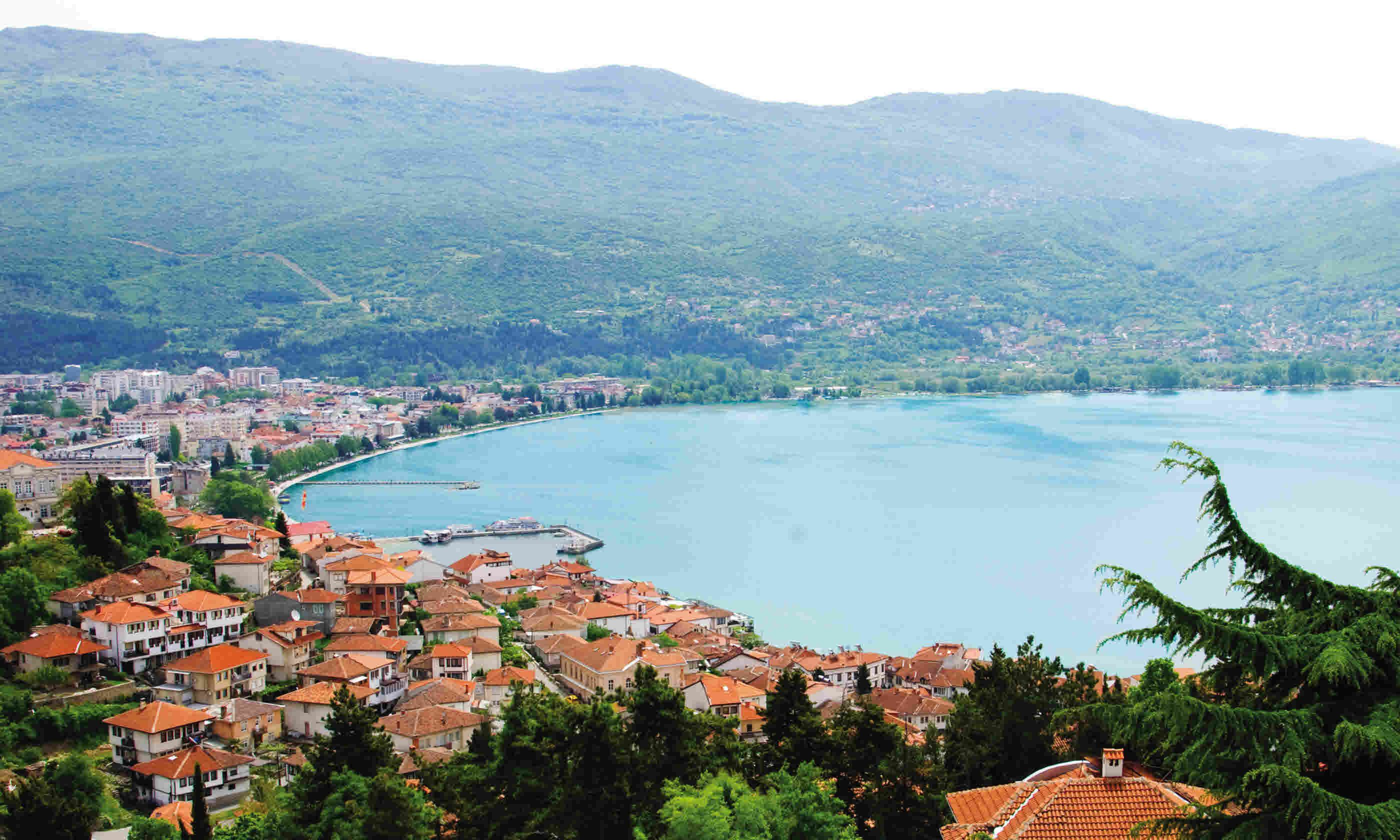 Lake Ohrid (Simon Chubb)