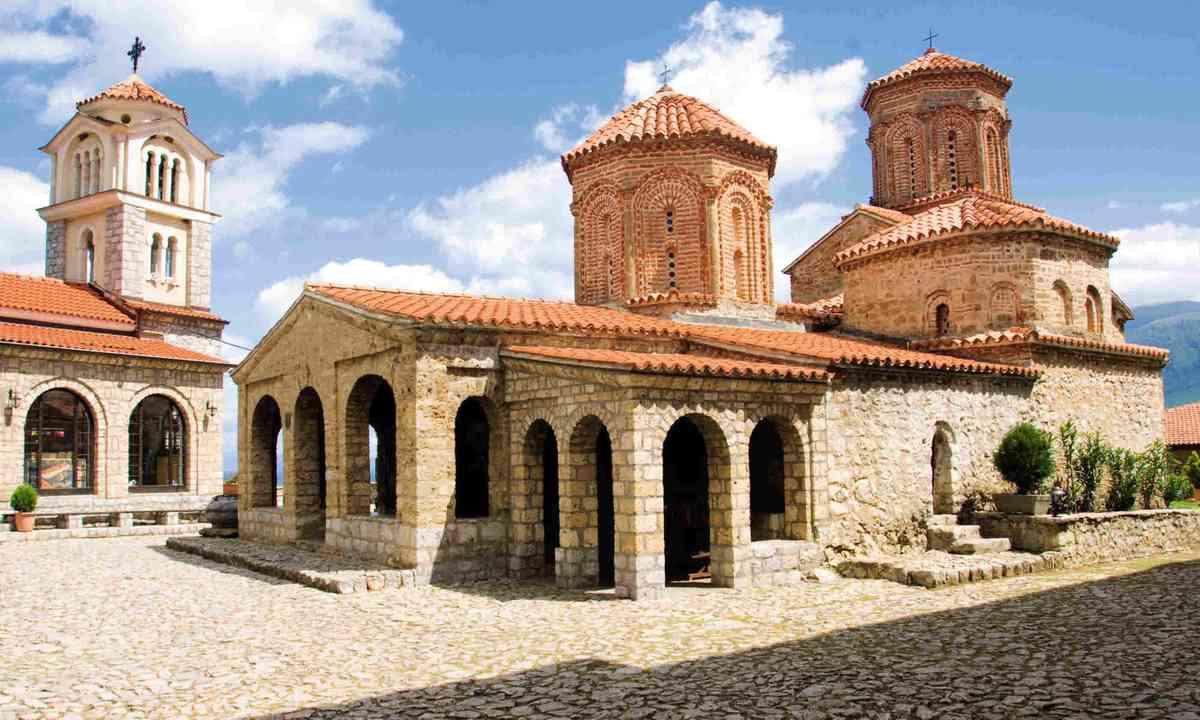 St Naum Monastery (Simon Chubb)