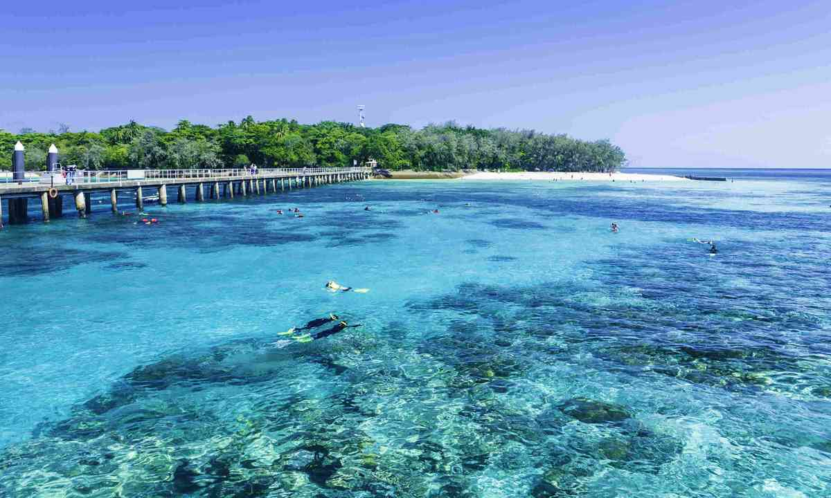 The Great Barrier Reef, Queensland, Australia (Dreamstime)