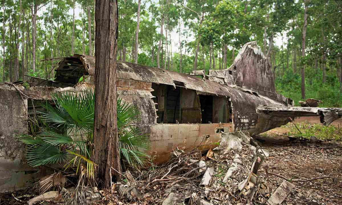Second World War relics in Horn Island (Mark Stratton)