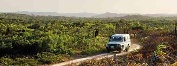 Vehicle in northeast Australia (Tourism & Events Queenslan)