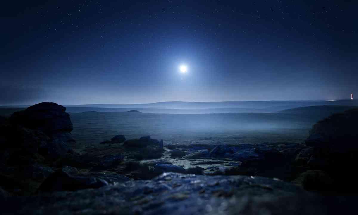 Glowing mist over Dartmoor (Shutterstock.com)
