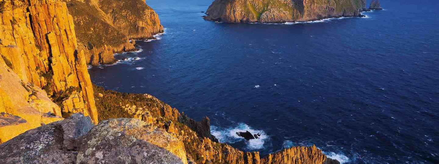 Looking out to Cape Pillar, Tasman National Park (Paul Bloomfield)