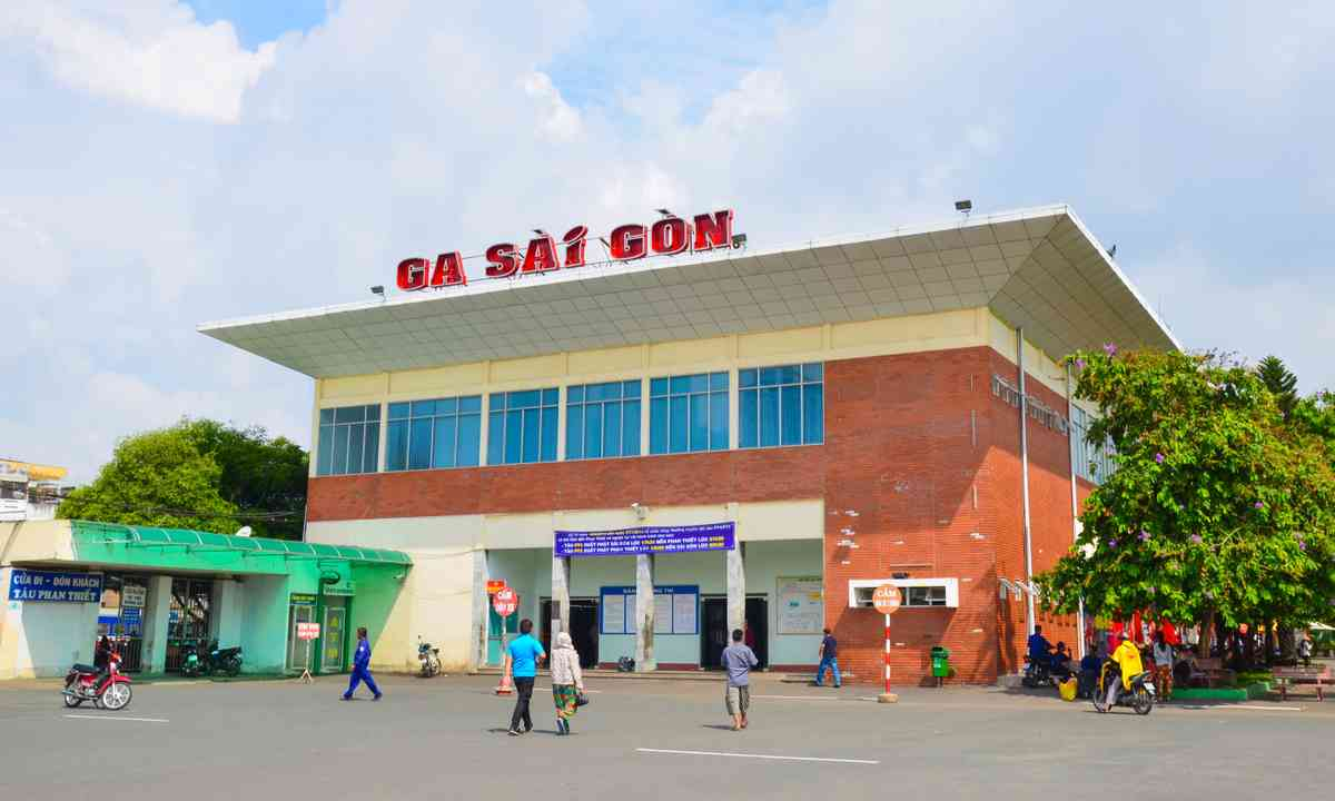 Sai Gon railway station (Shutterstock.com)