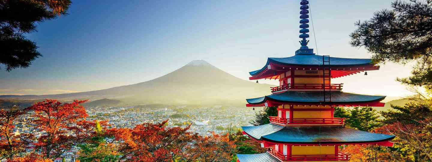 Chureito Pagoda and Mount Fuji (Dreamstime)