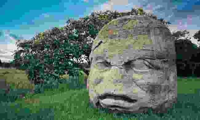 Olmec Colossal Head, La Venta, Mexico (Shutterstock)