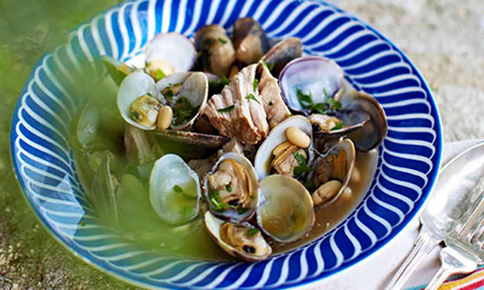Pork and clams (Rachel Khoo)
