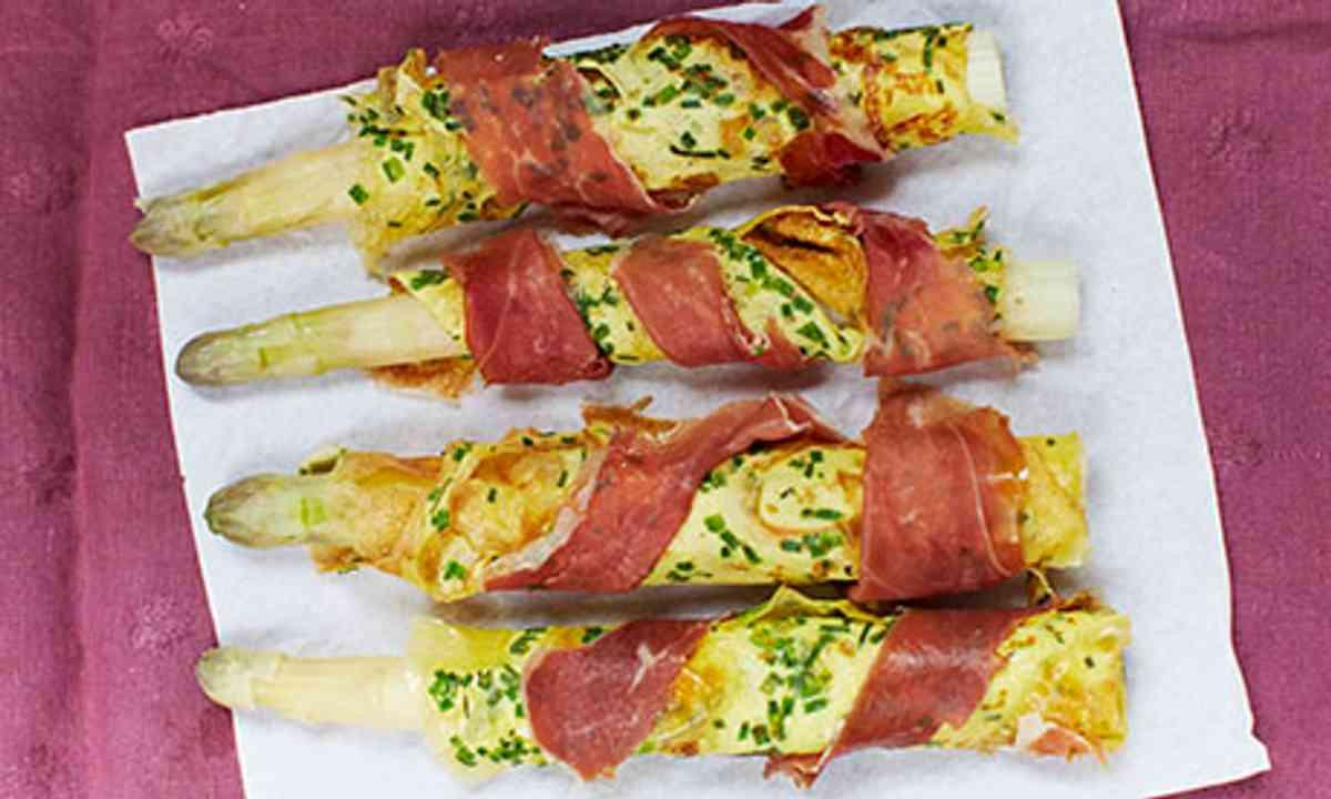 Asparagus (Rachel Khoo)