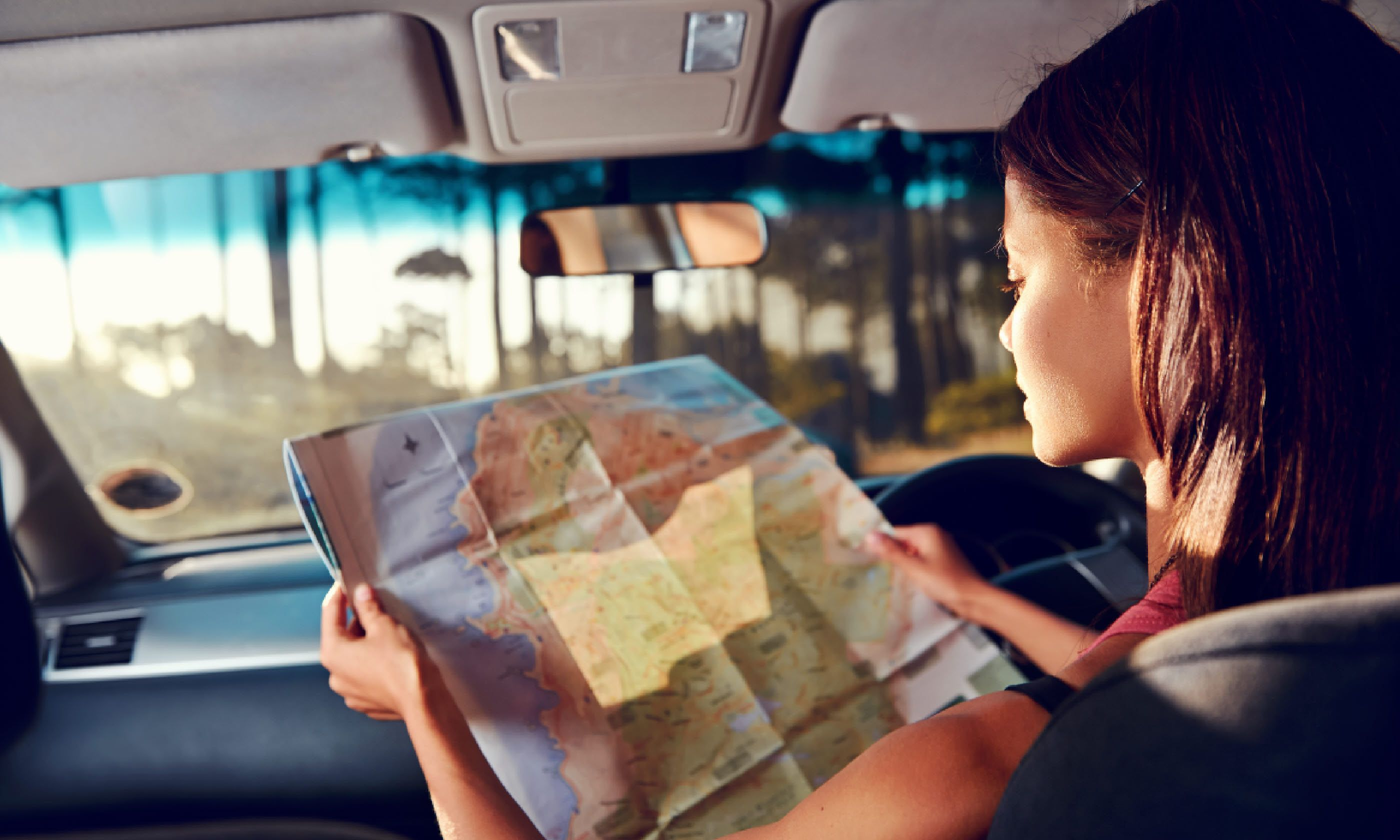 Road trips: sometimes it's best to just get out and walk, says Bill Bryson (Shutterstock)