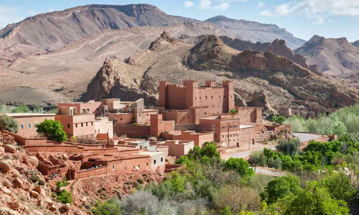 Village in Atlas Mountains, Morocco (Shutterstock)