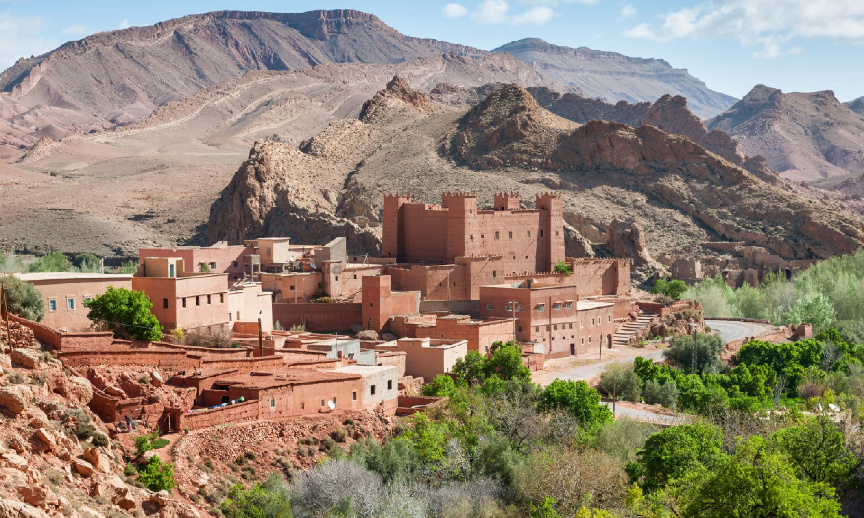 Village in Atlas Mountains, Morocco (Shutterstock)