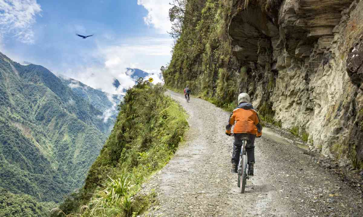 Cycling in Bolivia, South America (Shutterstock)