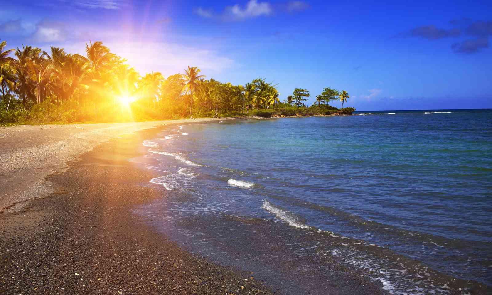 A deserted beach in Jamaica (Dreamstime)