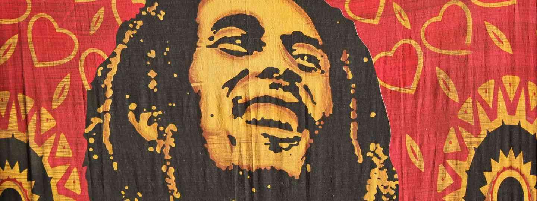 Bob Marley batik (Dreamstime)