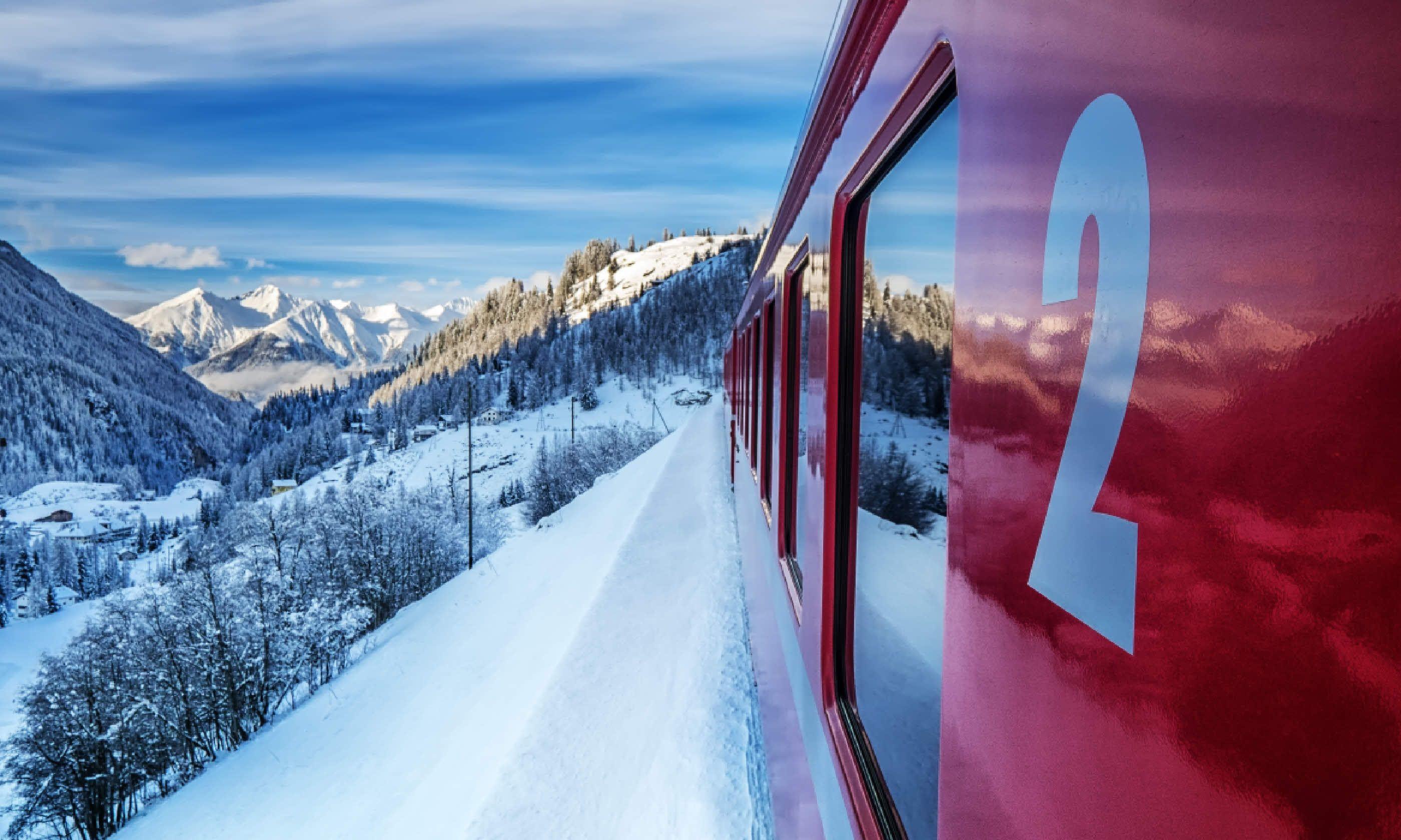 Swiss train (Shutterstock)