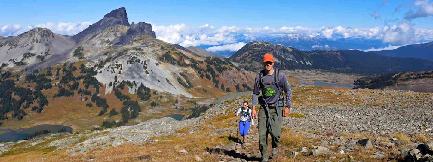 Sea to Sky Panorama Ridge, British Columbia (Cedric and Magee)