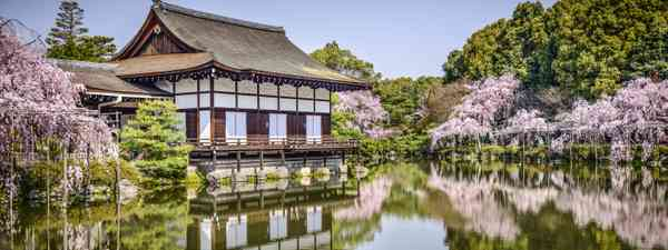 Japanese Gardens at Heian Shrine (Dreamstime)
