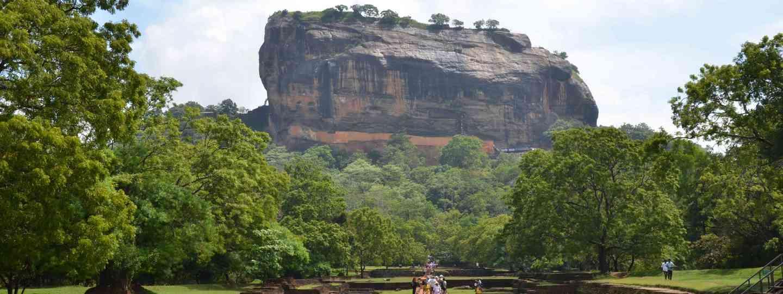 Sigiriya Rock, Sri Lanka (Neil S Price)