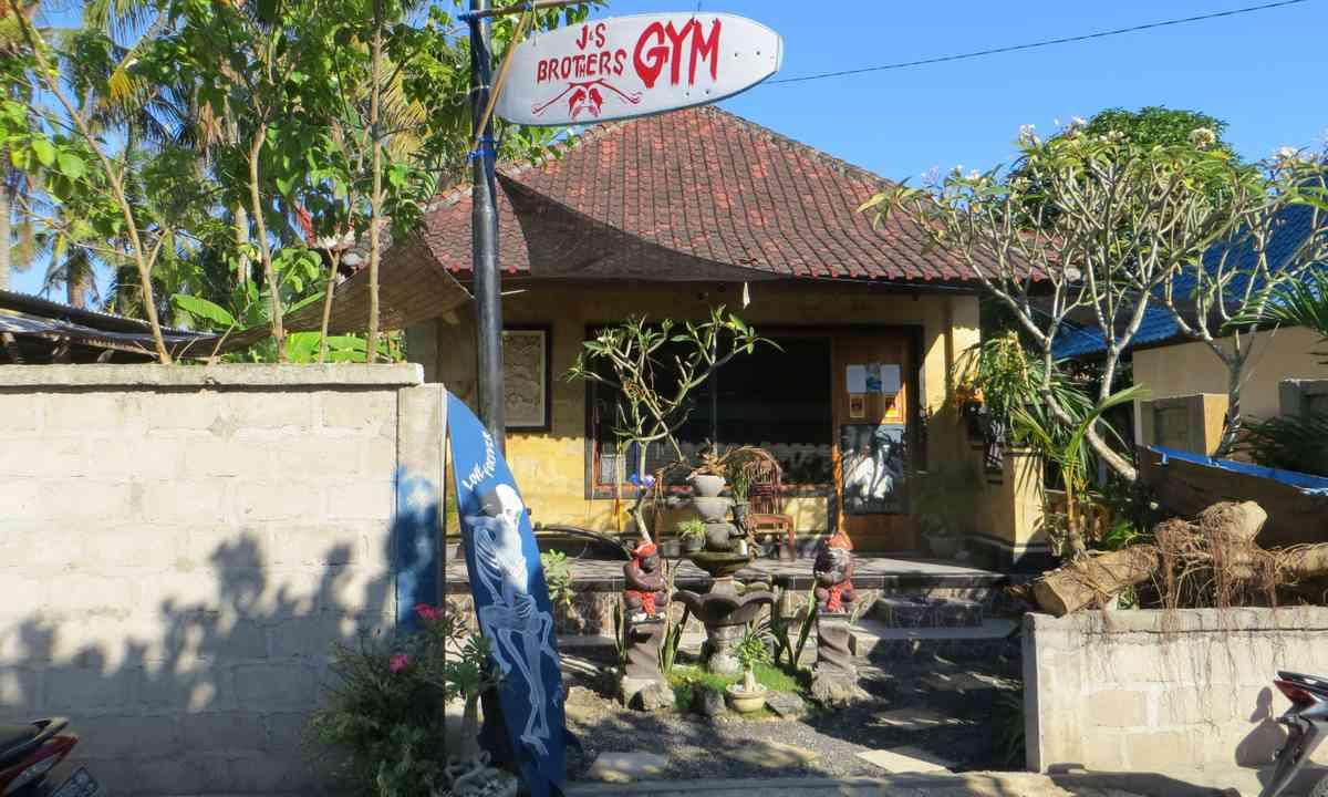 Gym, Nusa Lembongan (Justin Egli)
