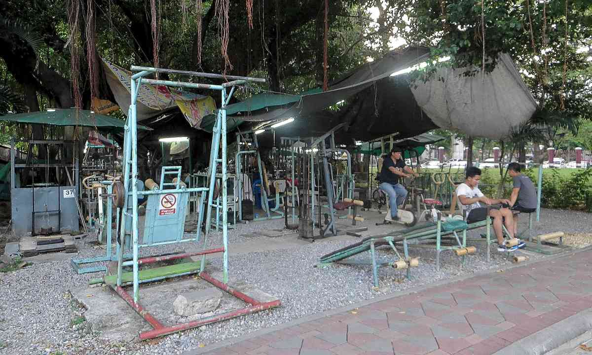 Alfresco gym, Bangkok (Justin Egli)