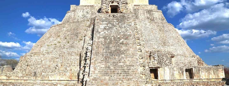 Pyramid of the Magician, Uxmal (Graeme Green)