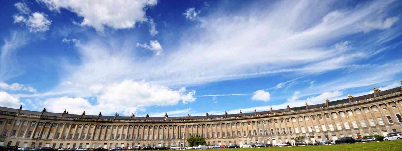 Bath's Royal Crescent (Dreamstime)