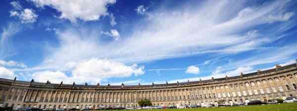 Bath's Royal Crescent (Dreamstime)