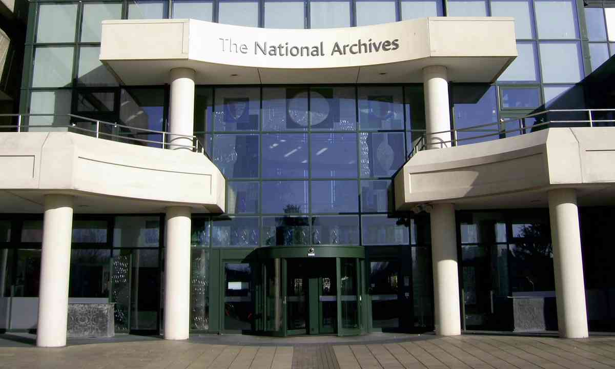 The National Archives (Creative Commons: Nick Cooper)