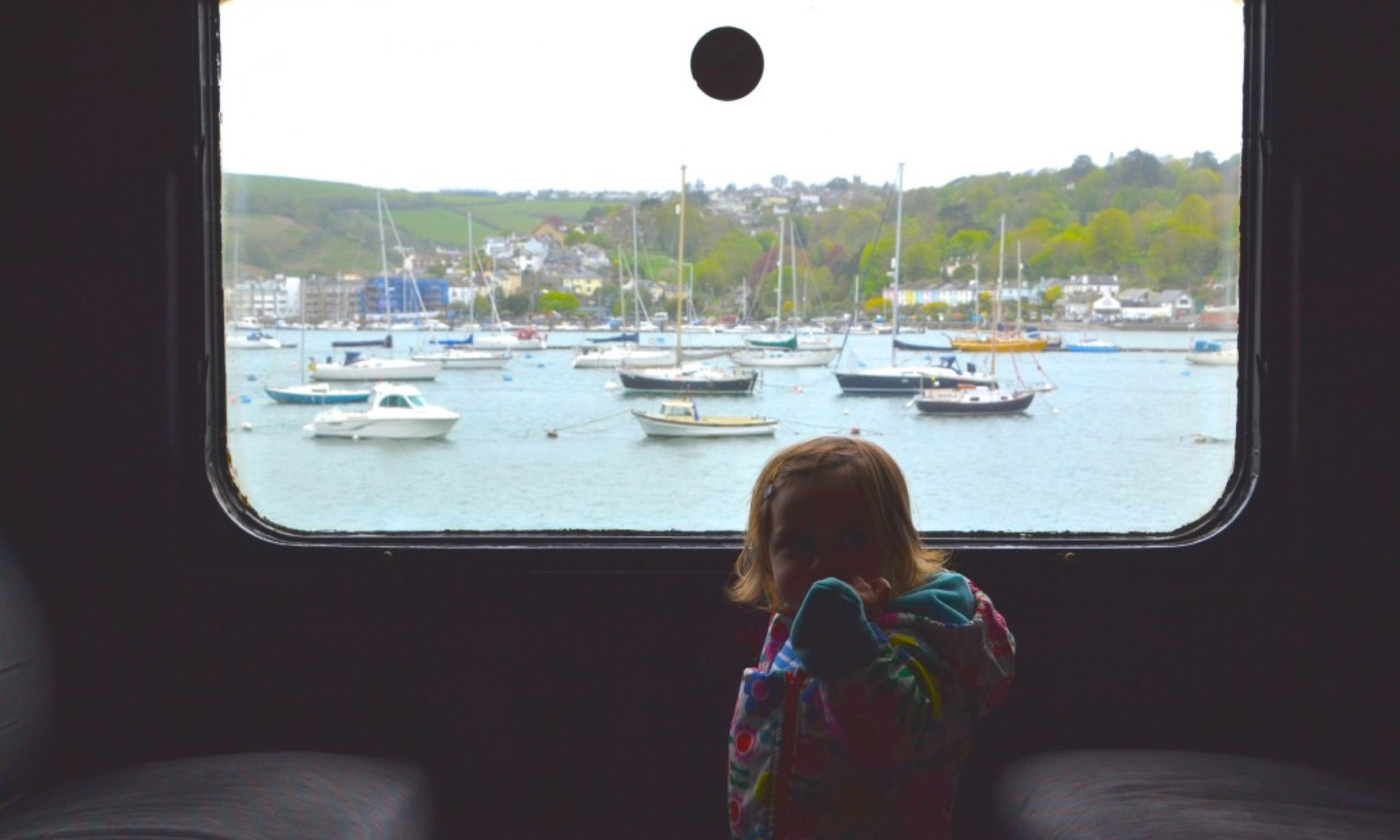View from the steam train (Angharad Paull)