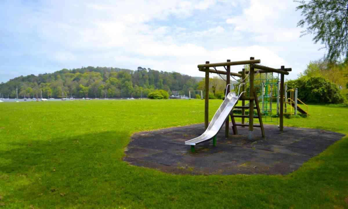 A play park in Devon (Angharad Paull)