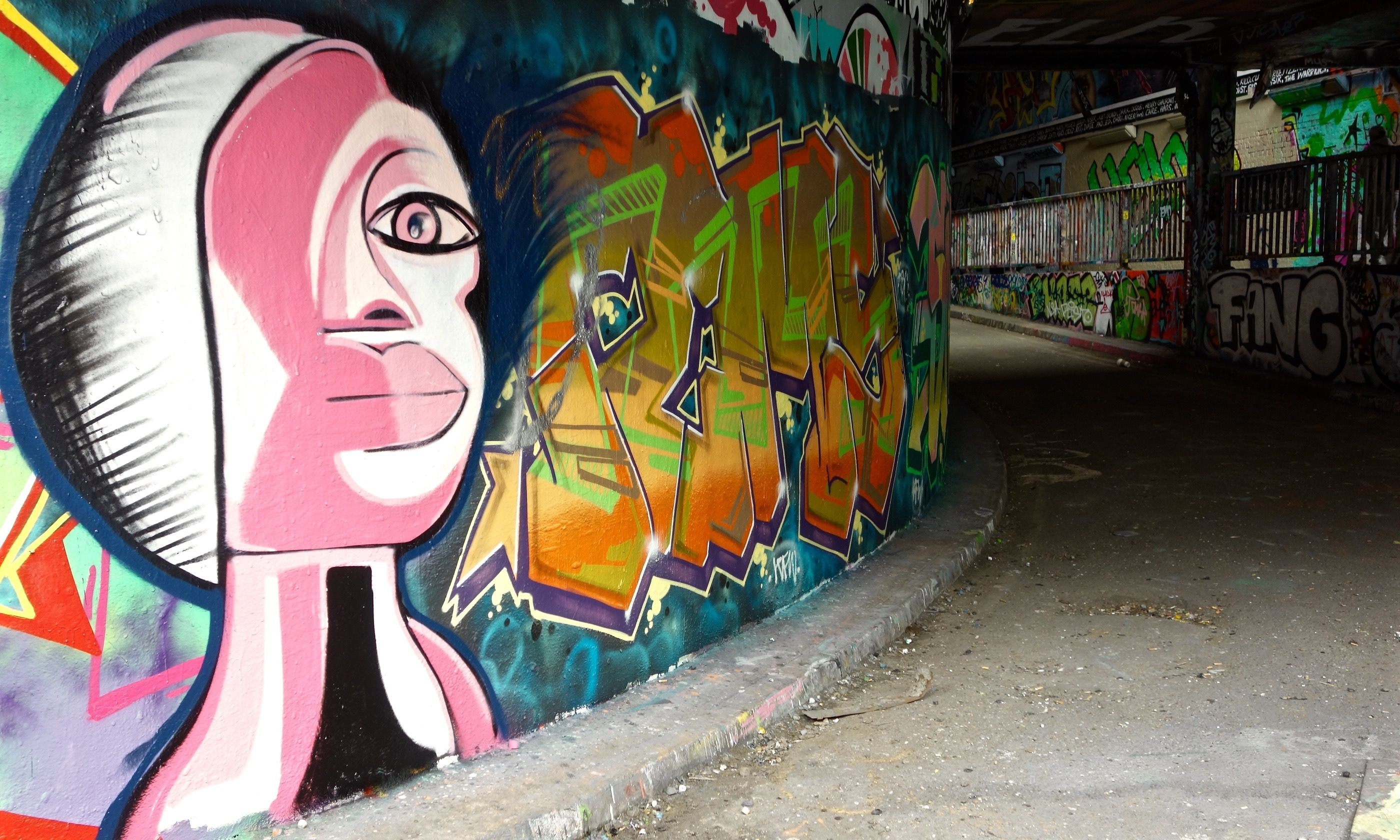 Leake Street Tunnel (Peter Moore)