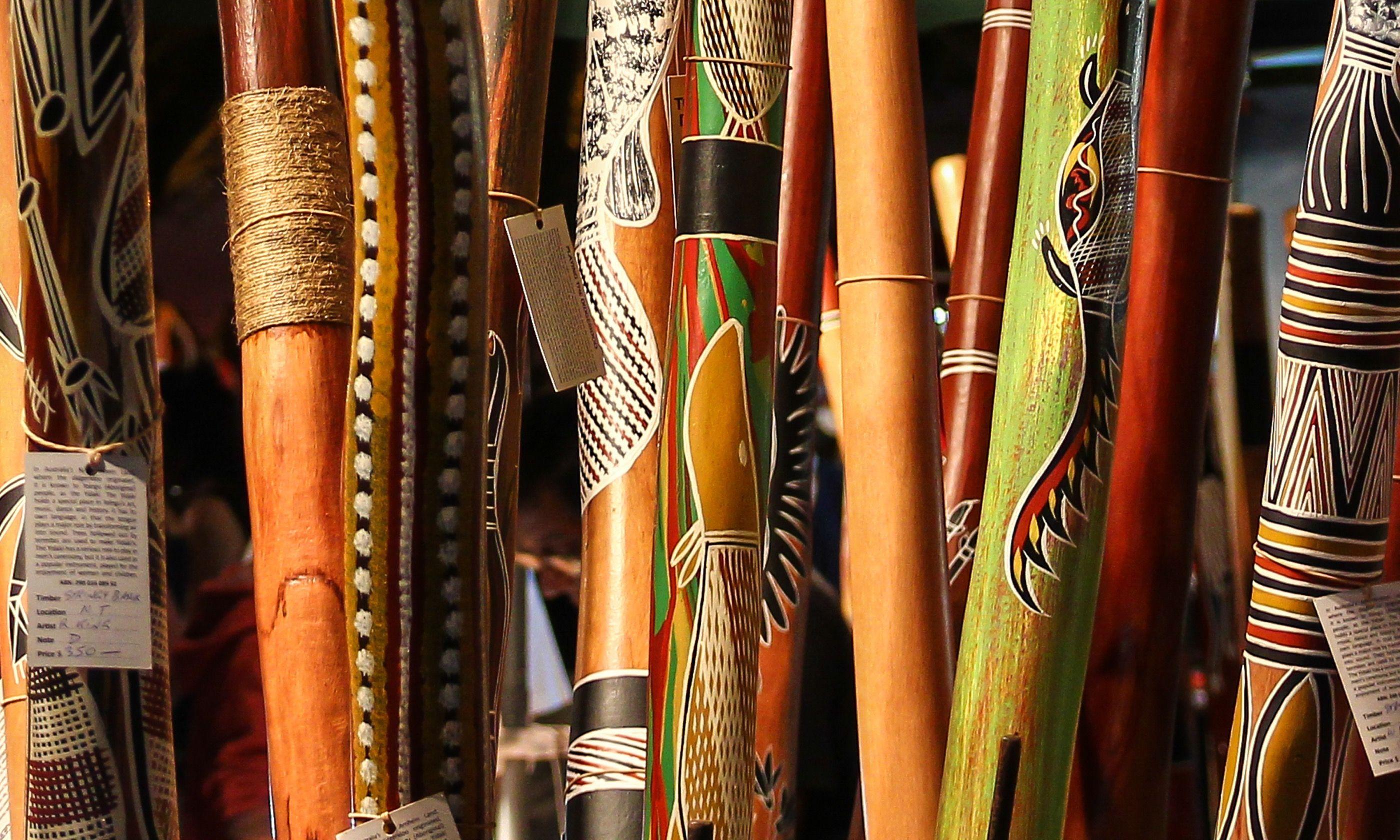 Didgeridoos (Shutterstock.com)