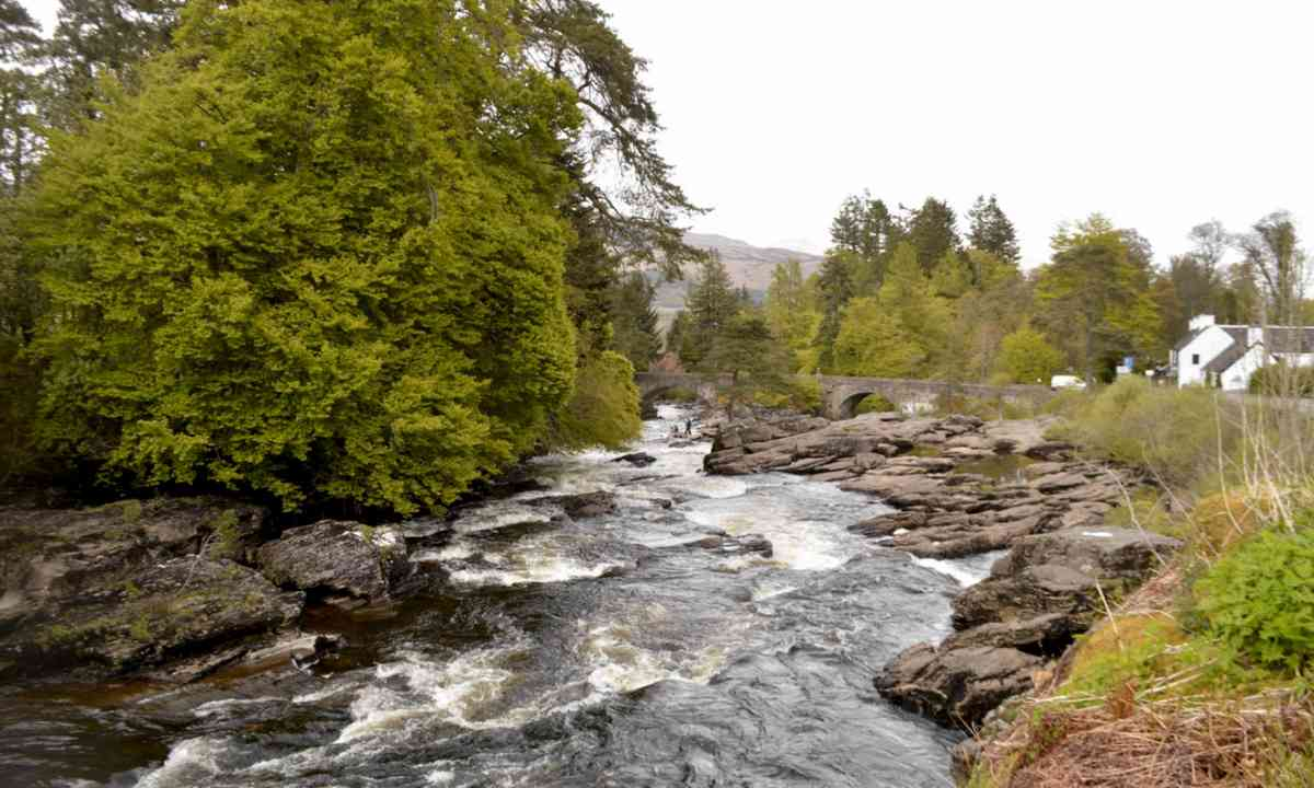 The Falls of Dochart (Daniel Storey)