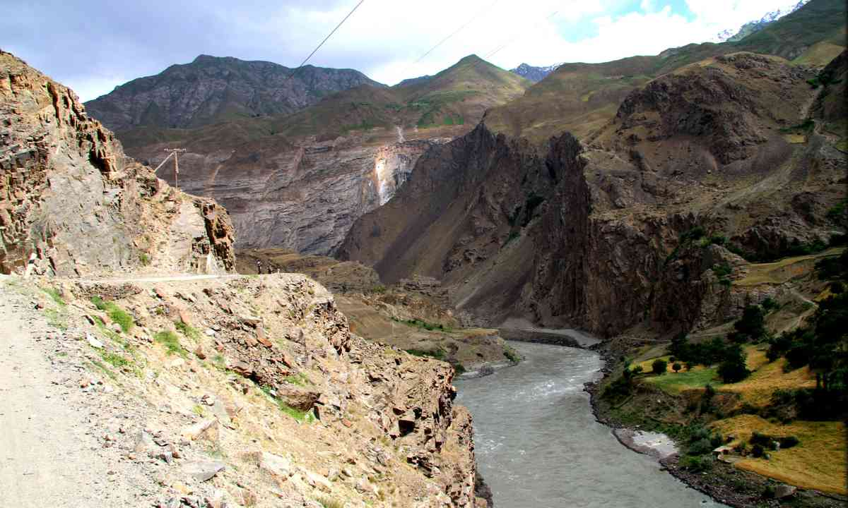 Looking over Afghanistan (Antonia Bolingbroke Kent)