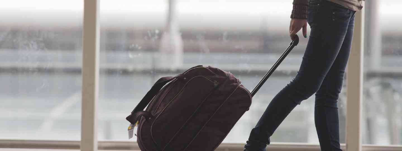 Luggage in Hong Kong Airport (Shutterstock: see credit below)