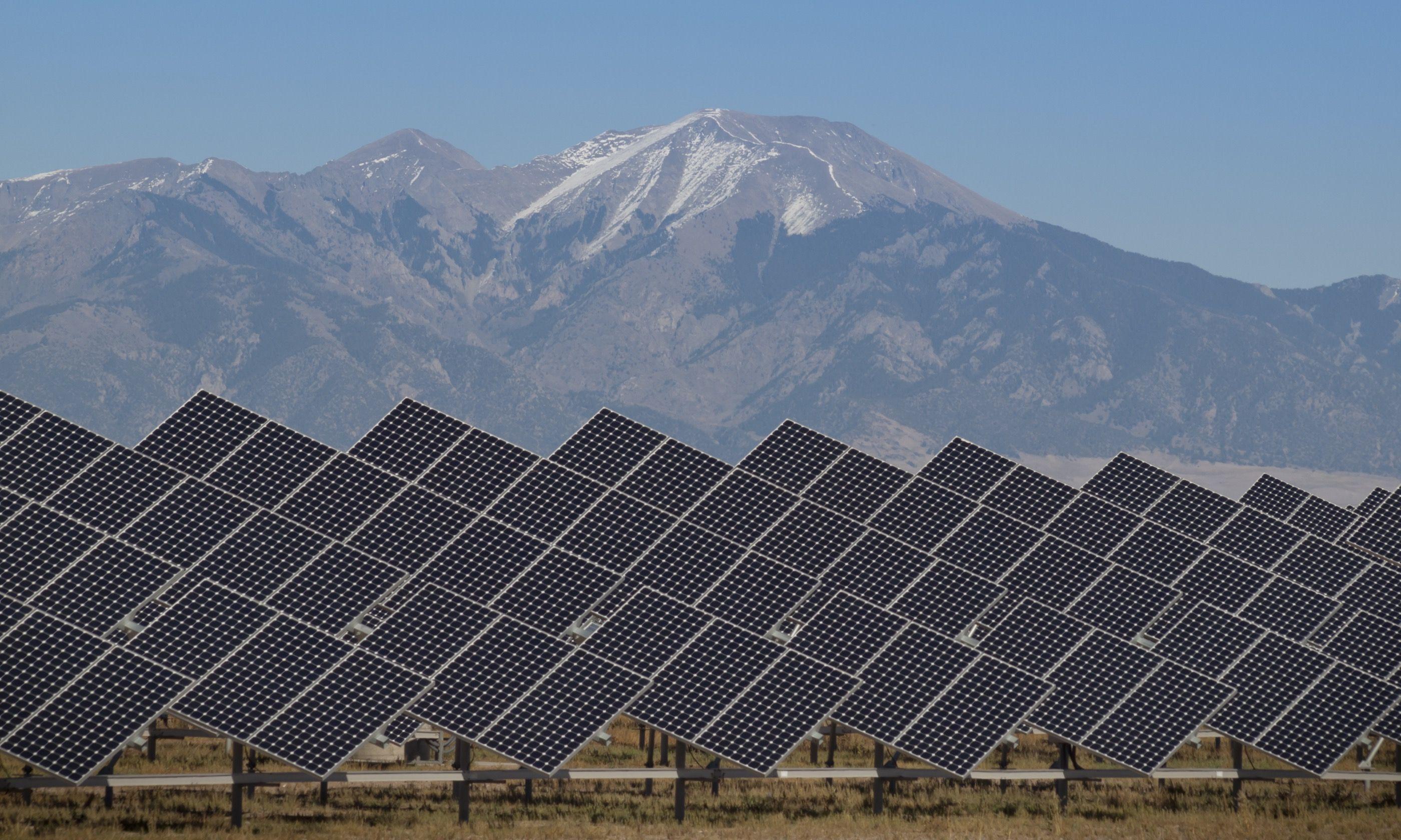 Solar power plant, San Luis Valley, Colorado. Or is it? (Shutterstock.com)