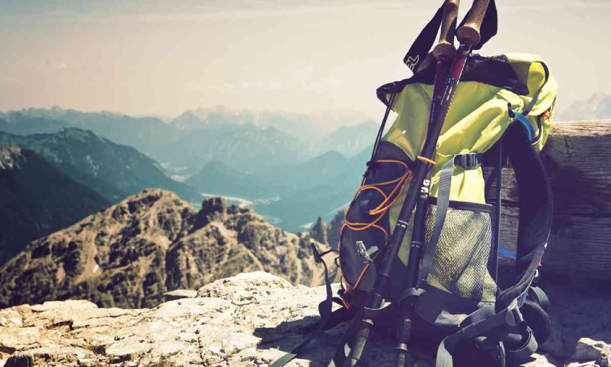 Rucksack in the German Alps (Shutterstock)
