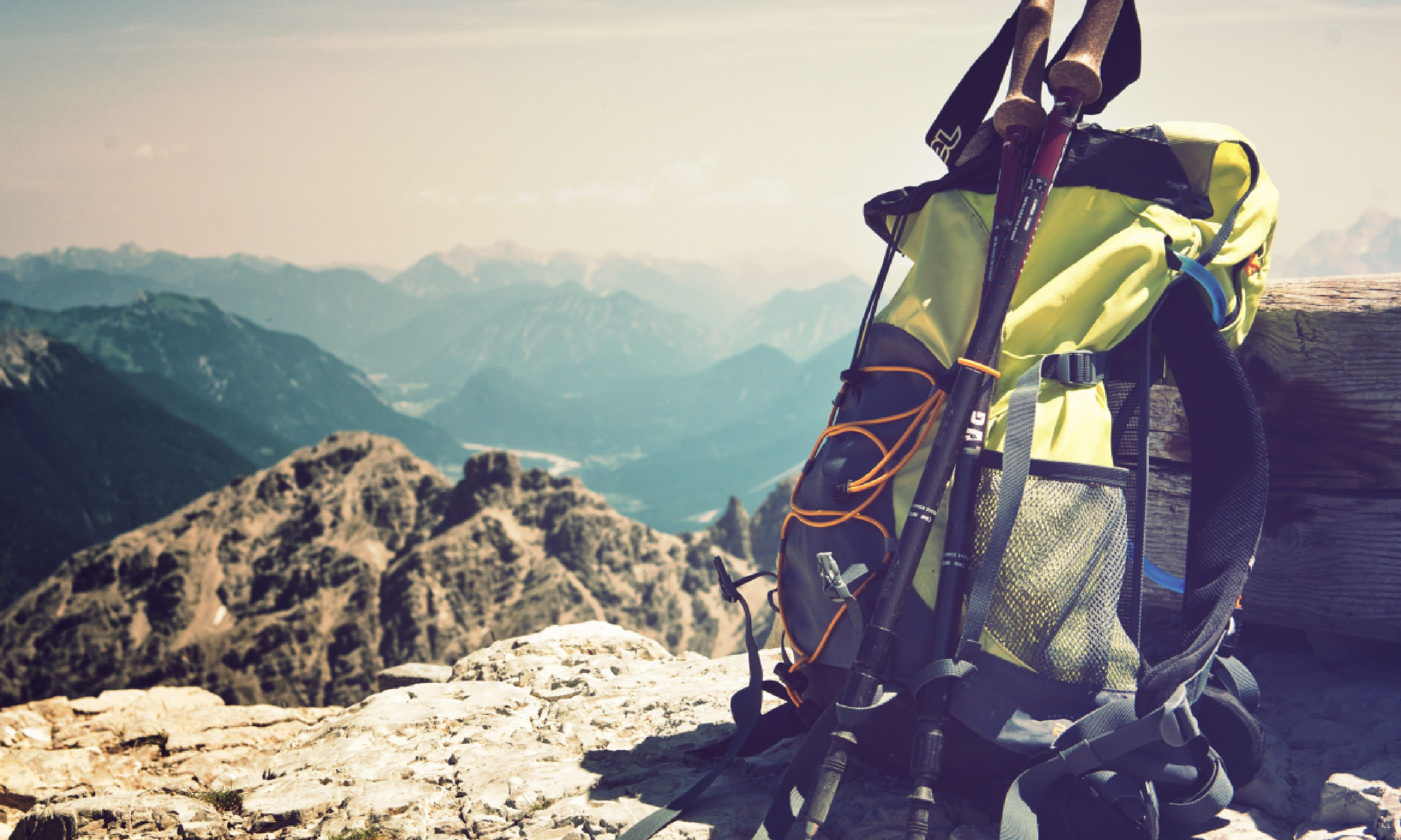 Rucksack in the German Alps (Shutterstock)