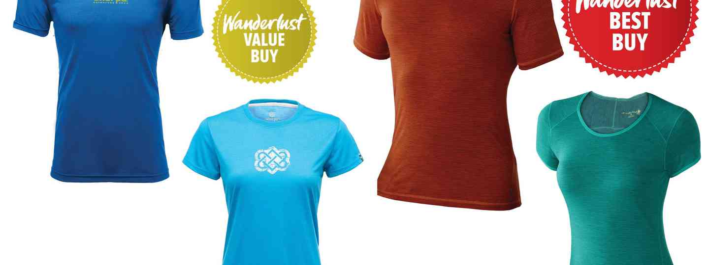 Wanderlust reviews the best of short-sleeved base layers