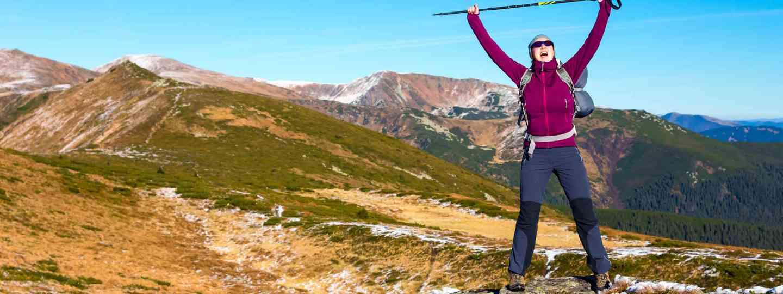 Walking poles (Shutterstock)