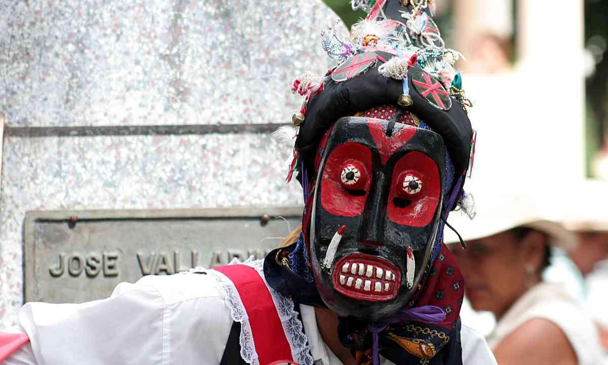 Festival mask, Panama (Shutterstock.com)