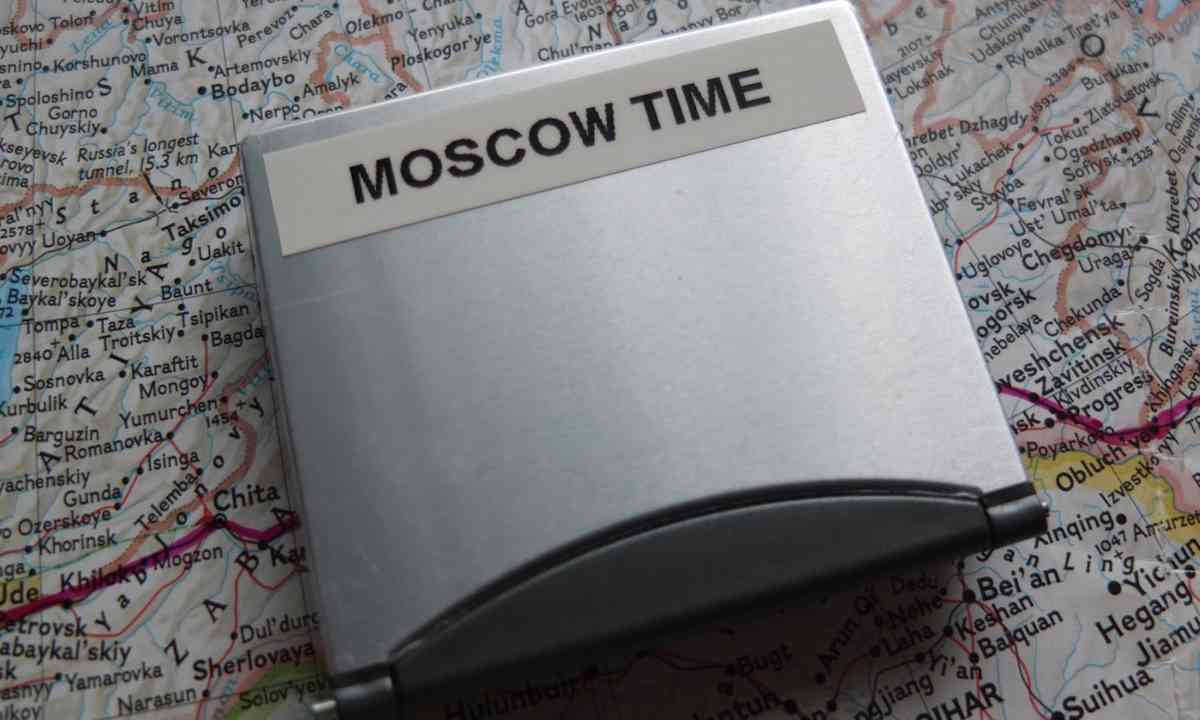Moscow Time (Matthew Woodward)