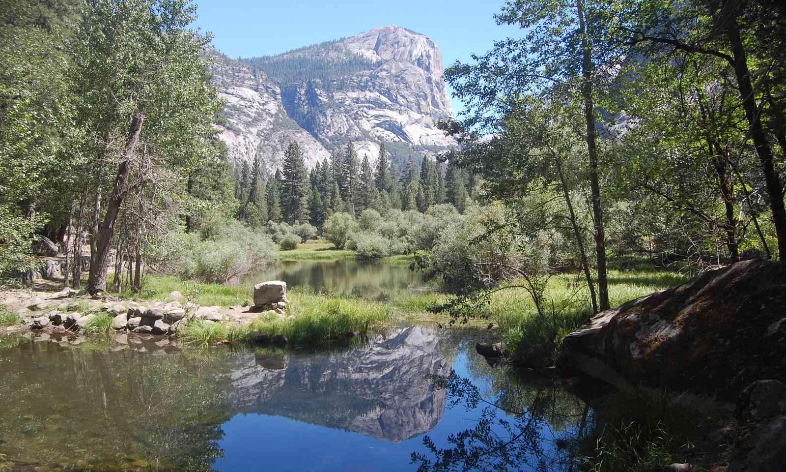 Mirror Lake and Mount Watkins (Shutterstock.com)