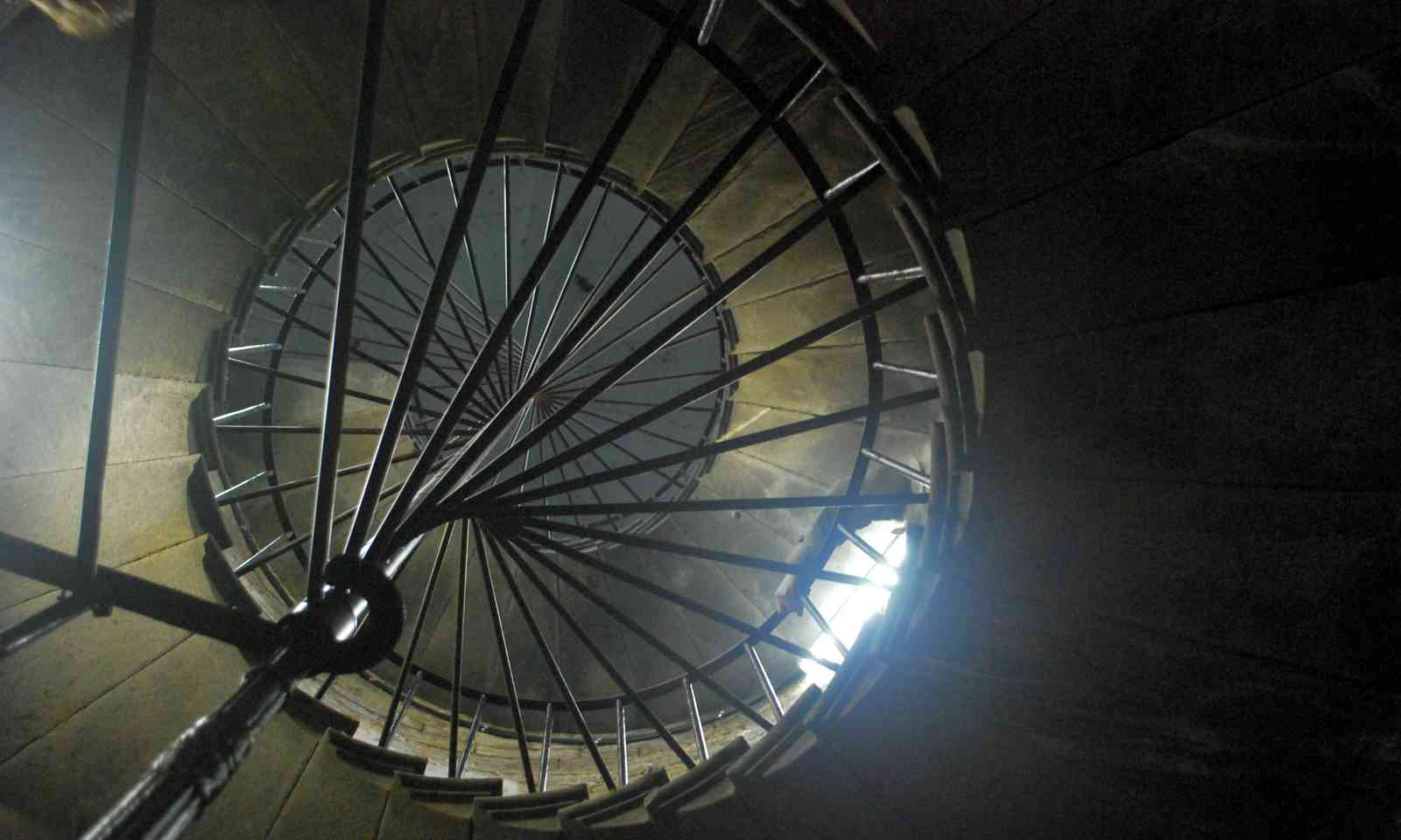 Spiral staircase, St Isaac's (Meraid Griffin)