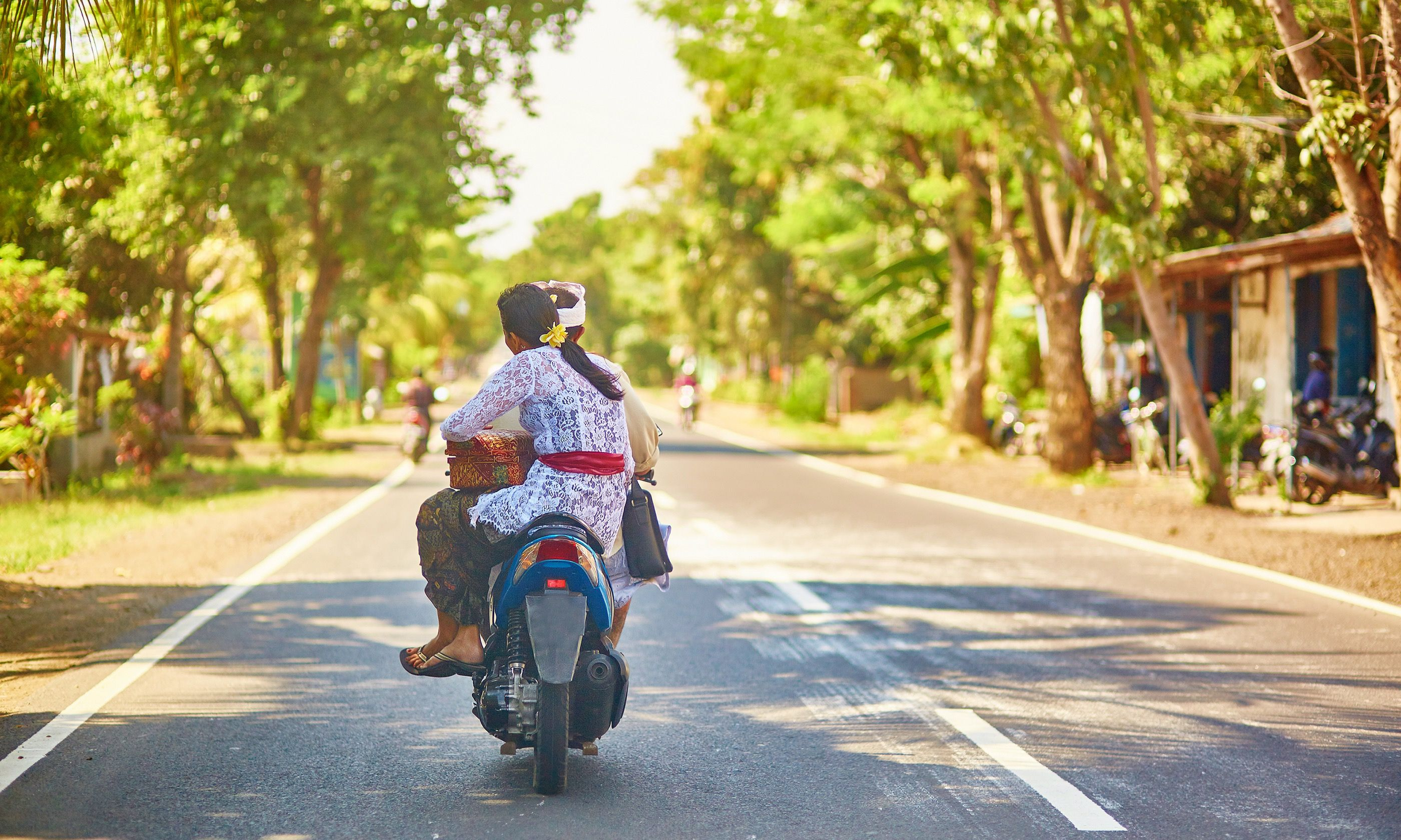 Couple riding in West Bali (Shutterstock.com)