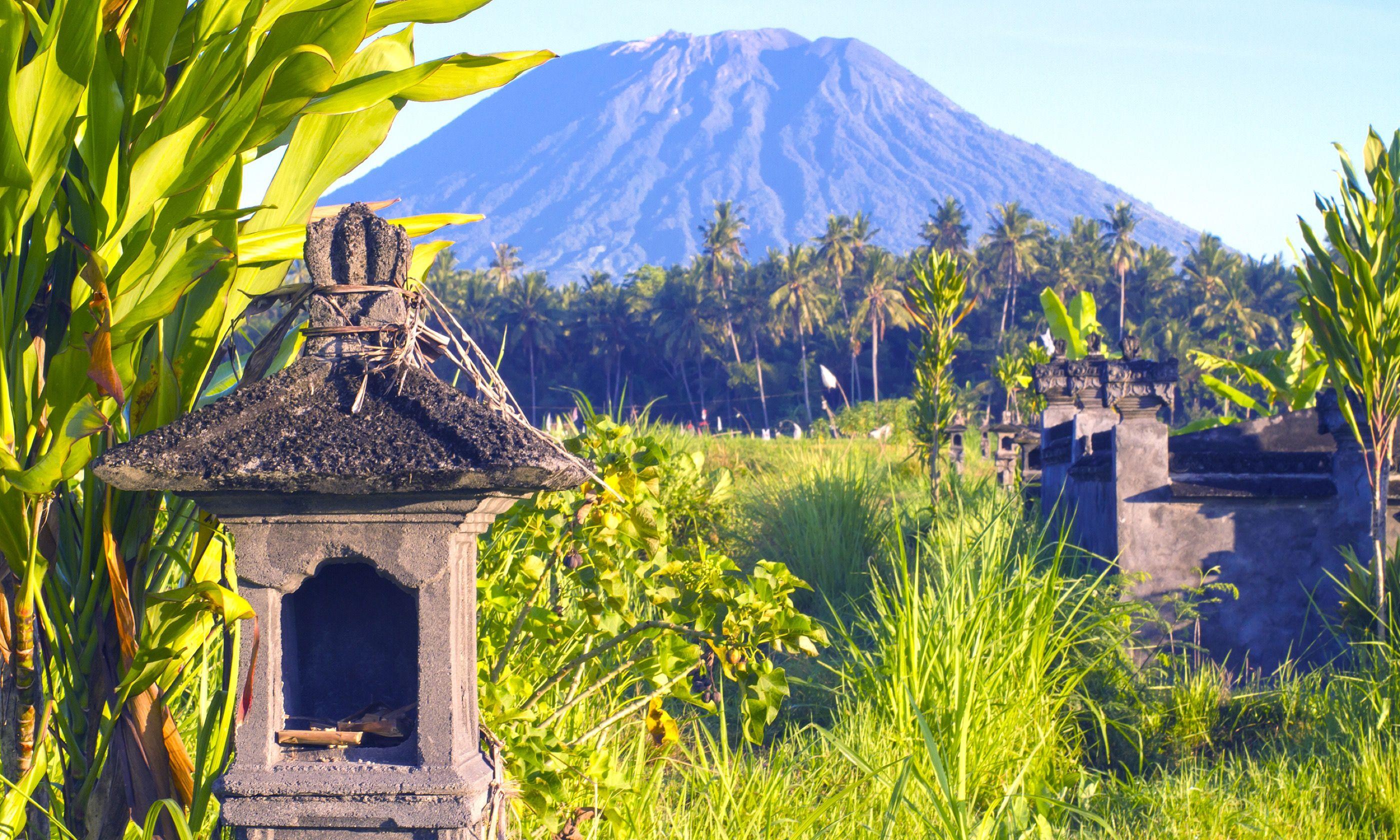 Mount Agung, Bali (Shutterstock.com)