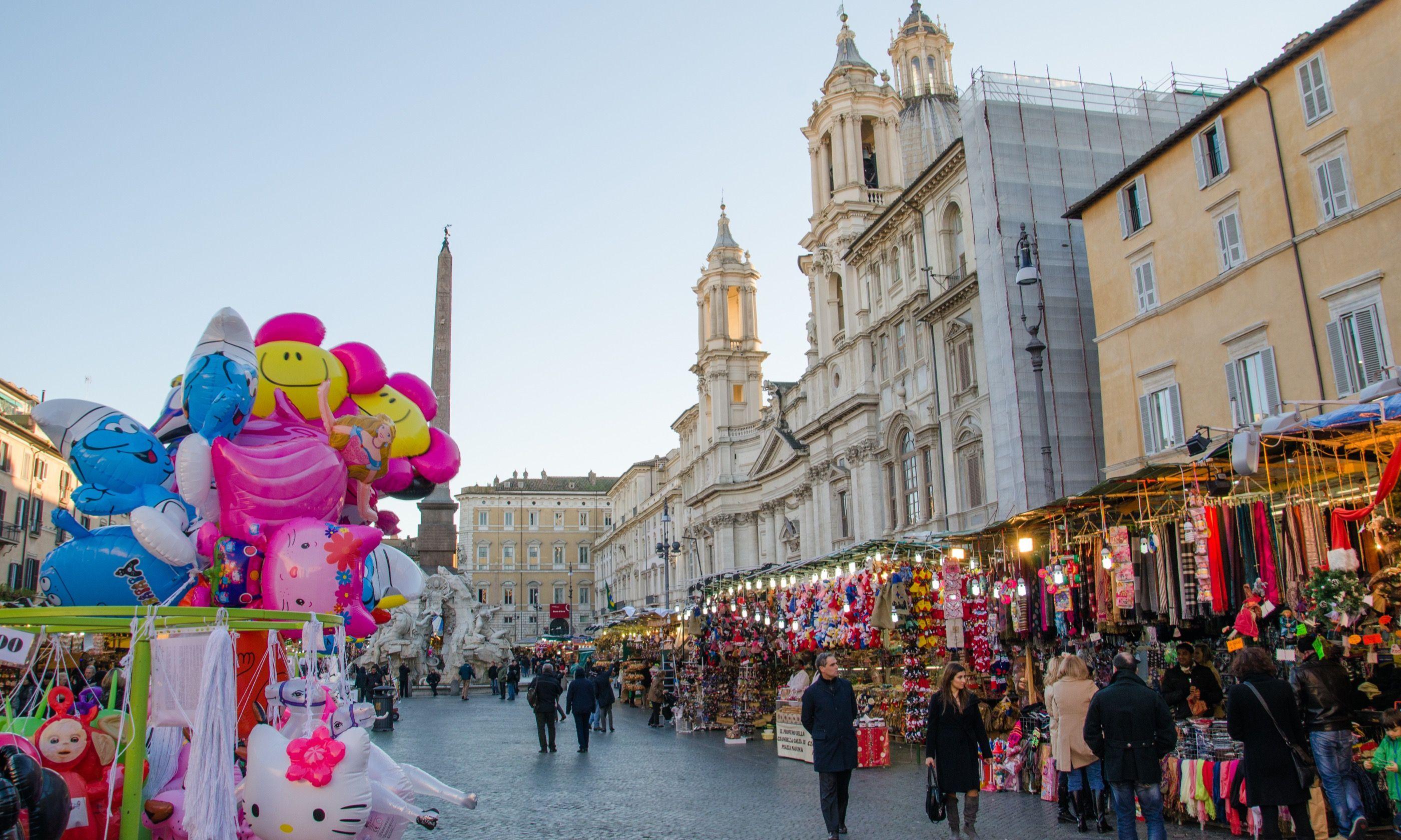 Christmas Market, Rome (Shutterstock.com)