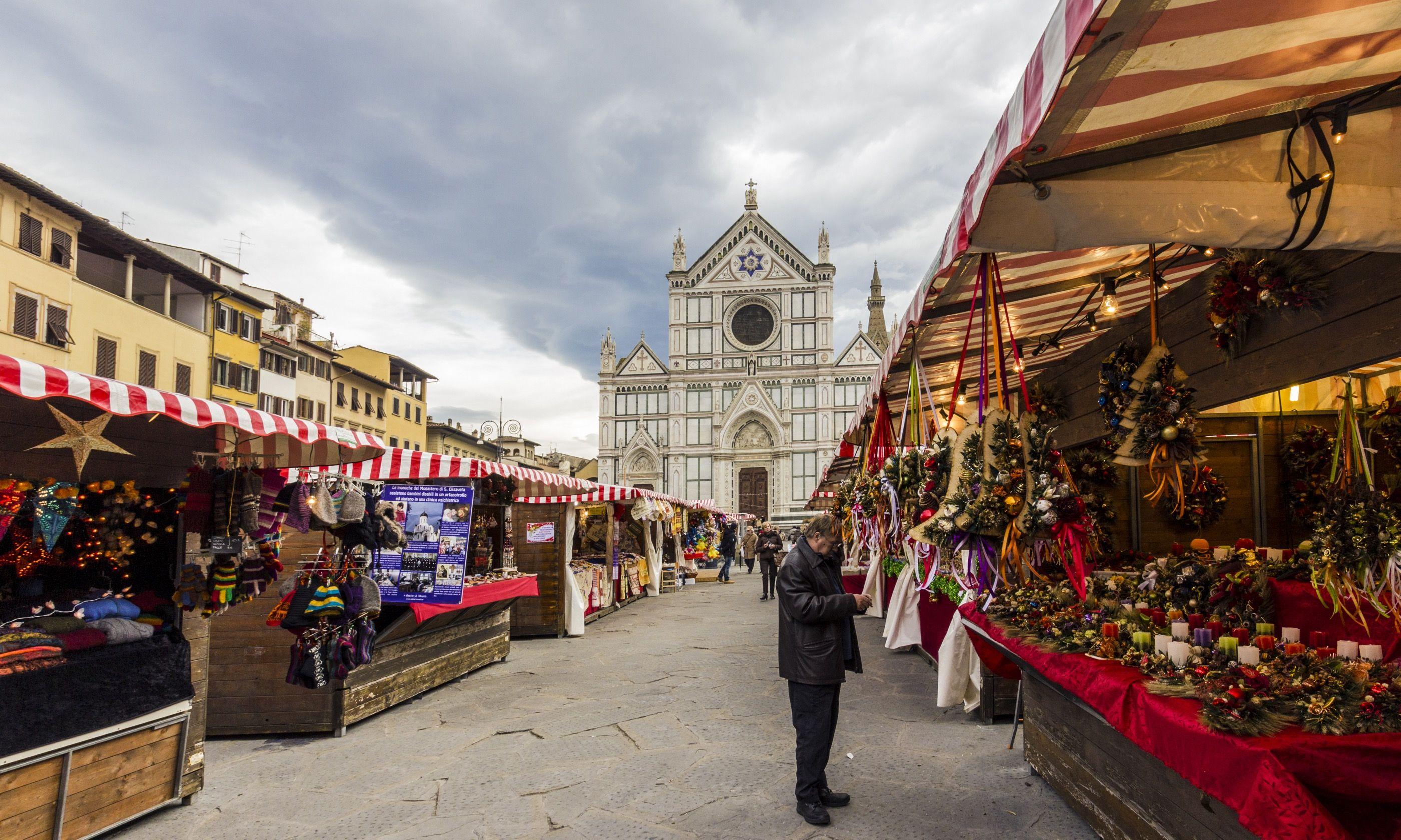 Christmas Market, Florence (Shutterstock.com)