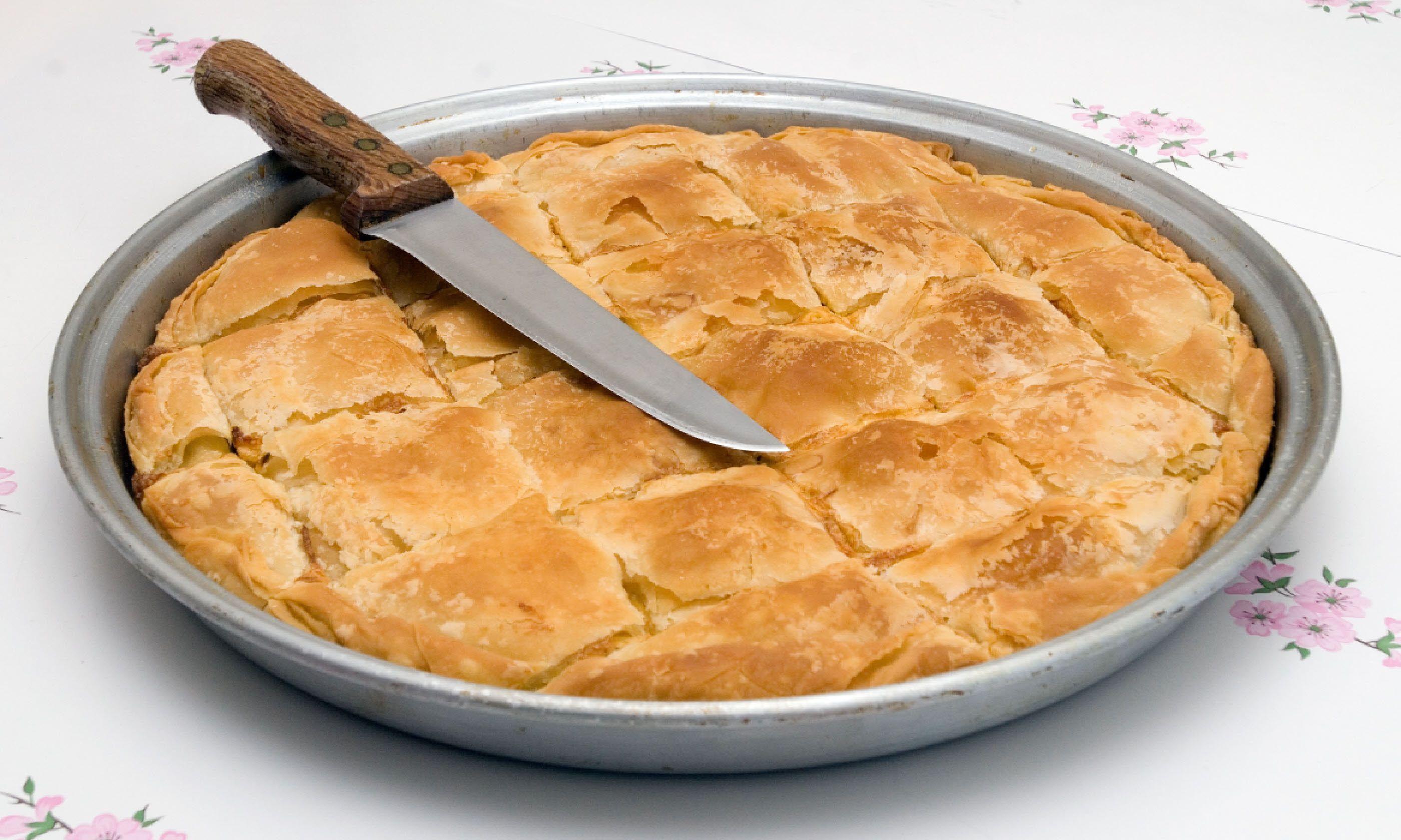 Traditional Greek cheese pie (Shutterstock)